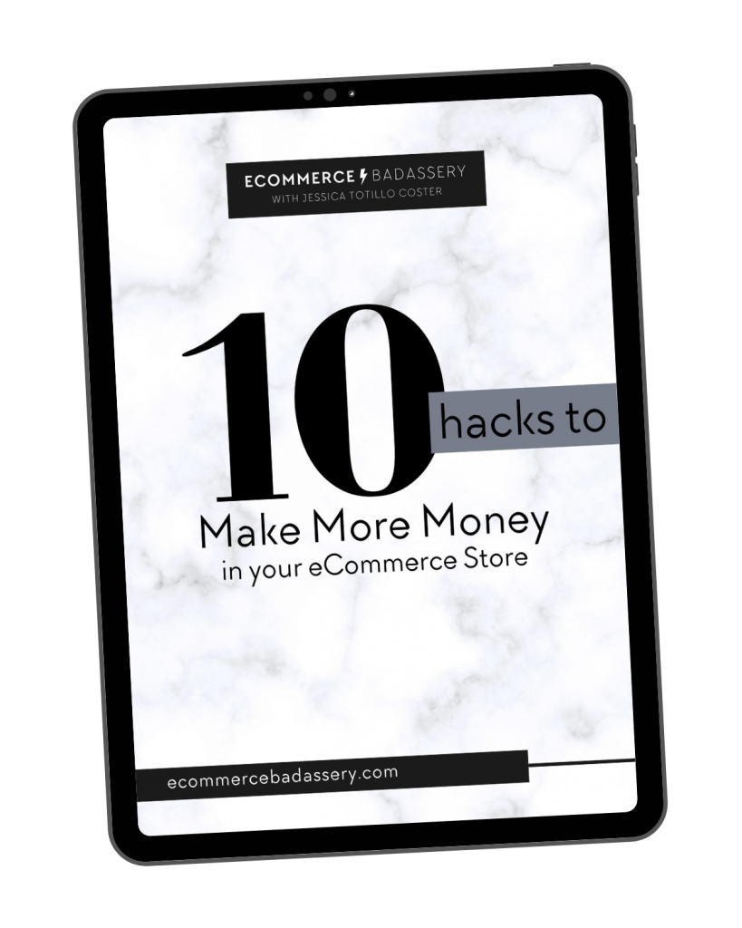 10 Hacks to Make More Money in Your eCommerce Store