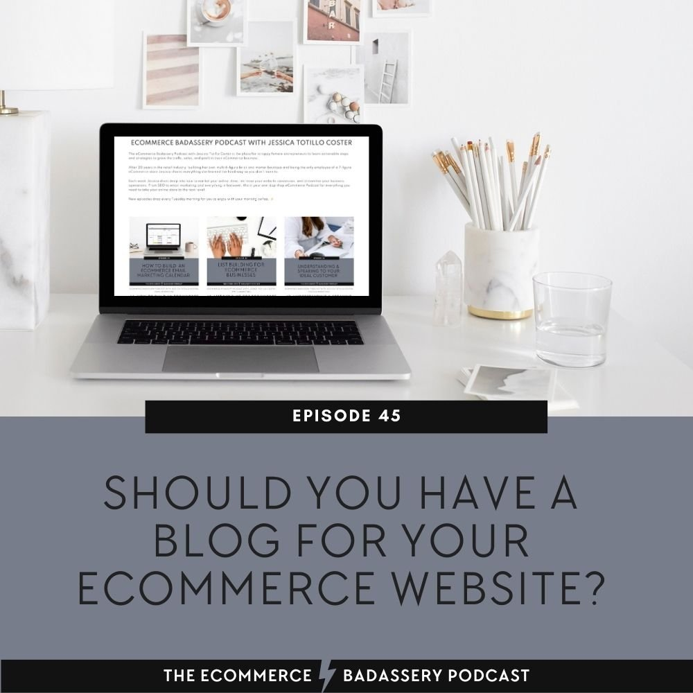 Should you have a blog for ecommerce website