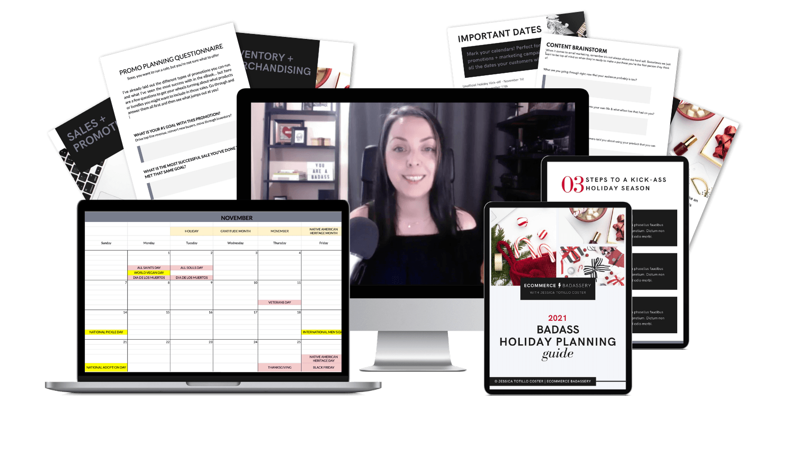planning holiday sales and emails for ecommerce